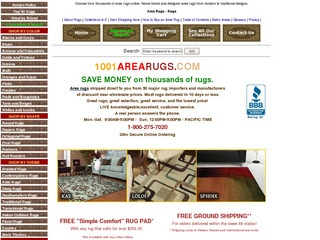 1001 Area Rugs