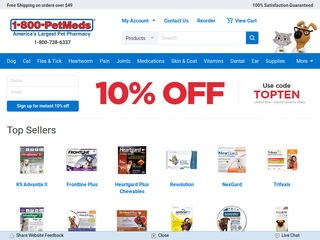 Petmeds is a major pet meds retailer which operates the website hereifilessl.ga As of today, we have 2 active Petmeds promo codes and 3 sales. The Dealspotr community last updated this page on August 18, /5(11).
