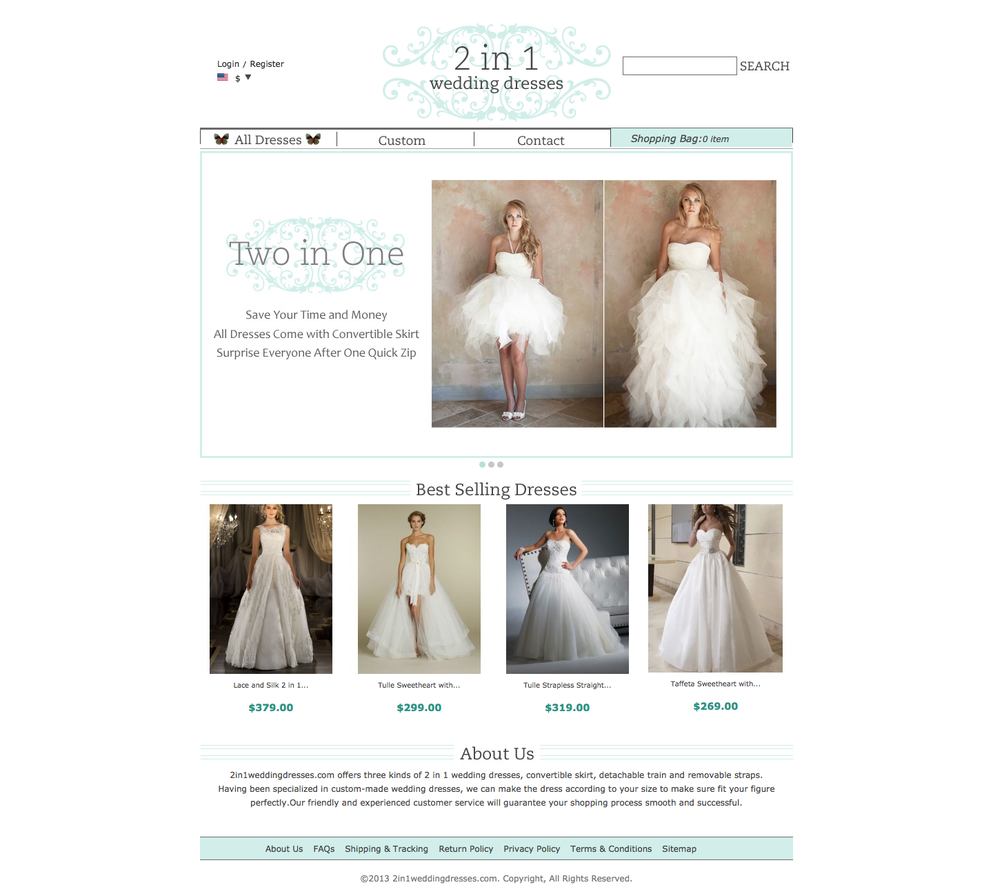 2 in 1 Wedding Dresses Reviews | Consumer Reviews of ...