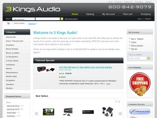 3 Kings Audio