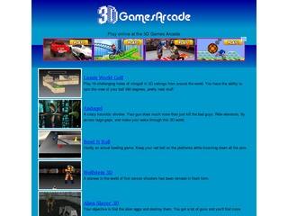 3d games arcade