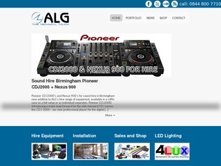 ALG Sound and L