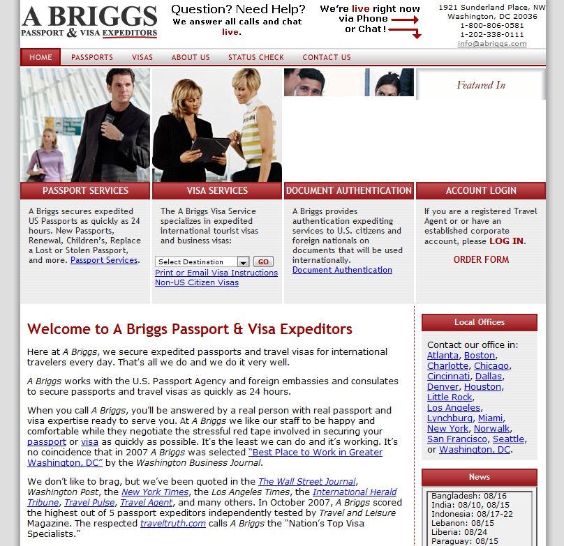 A Briggs Passpo