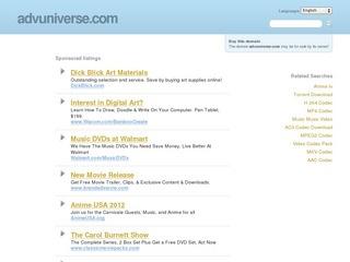Adv Universe /