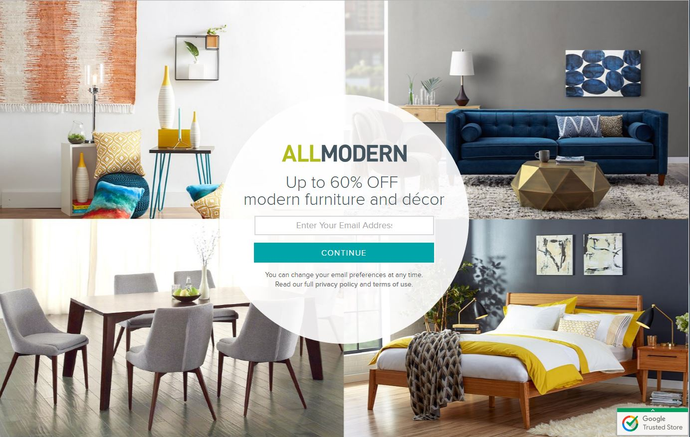 all modern rated  stars by  consumers  allmoderncom  - hundreds of thousands of shoppers visit resellerratings every month tocheck out real reviews of shopping experiences before they buy