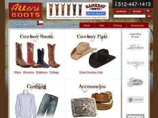 Allensboots.com