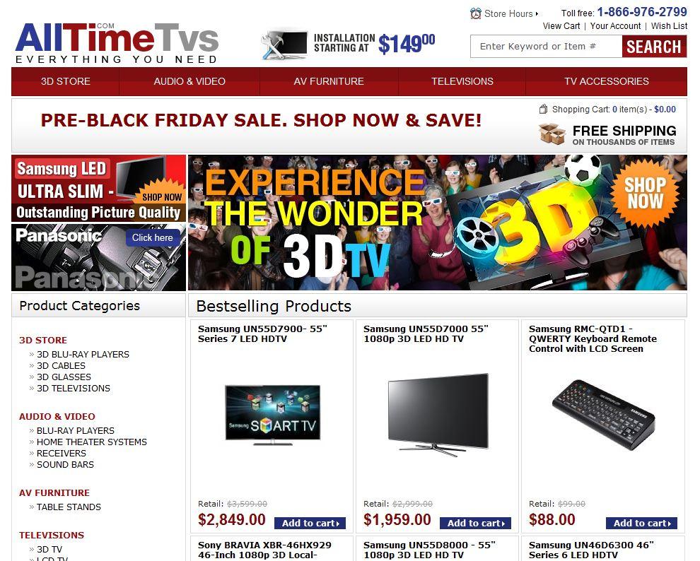 AllTimeTVs.com