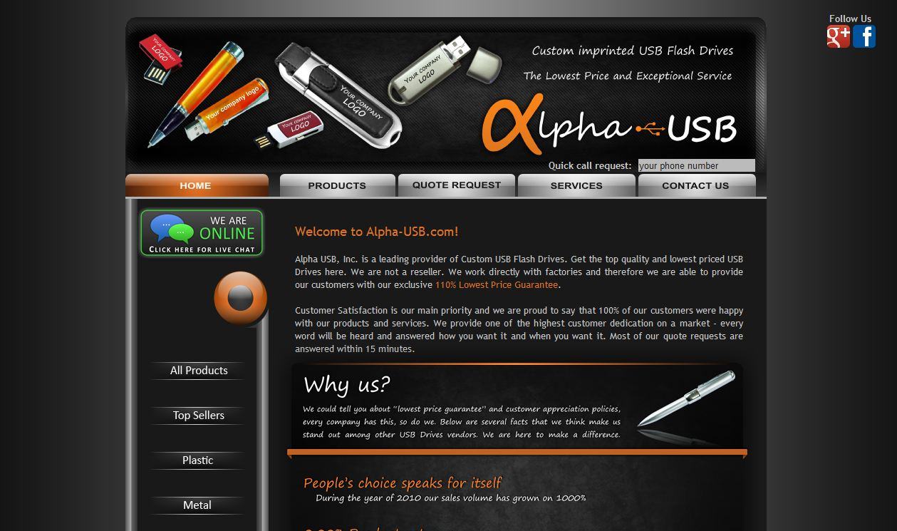 Alpha USB Inc