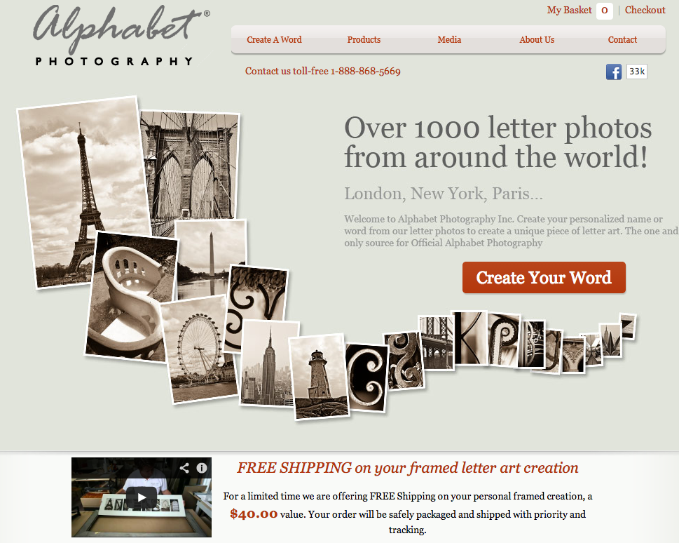 Alphabet Photog