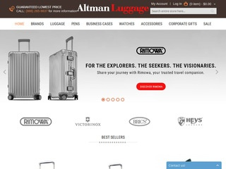 Altman Luggage Co. Rated 3/5 stars by 22 Consumers - altmanluggage ...