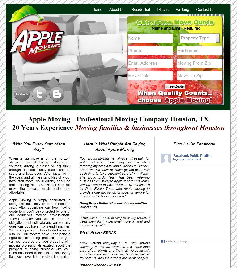 Apple Moving Ho