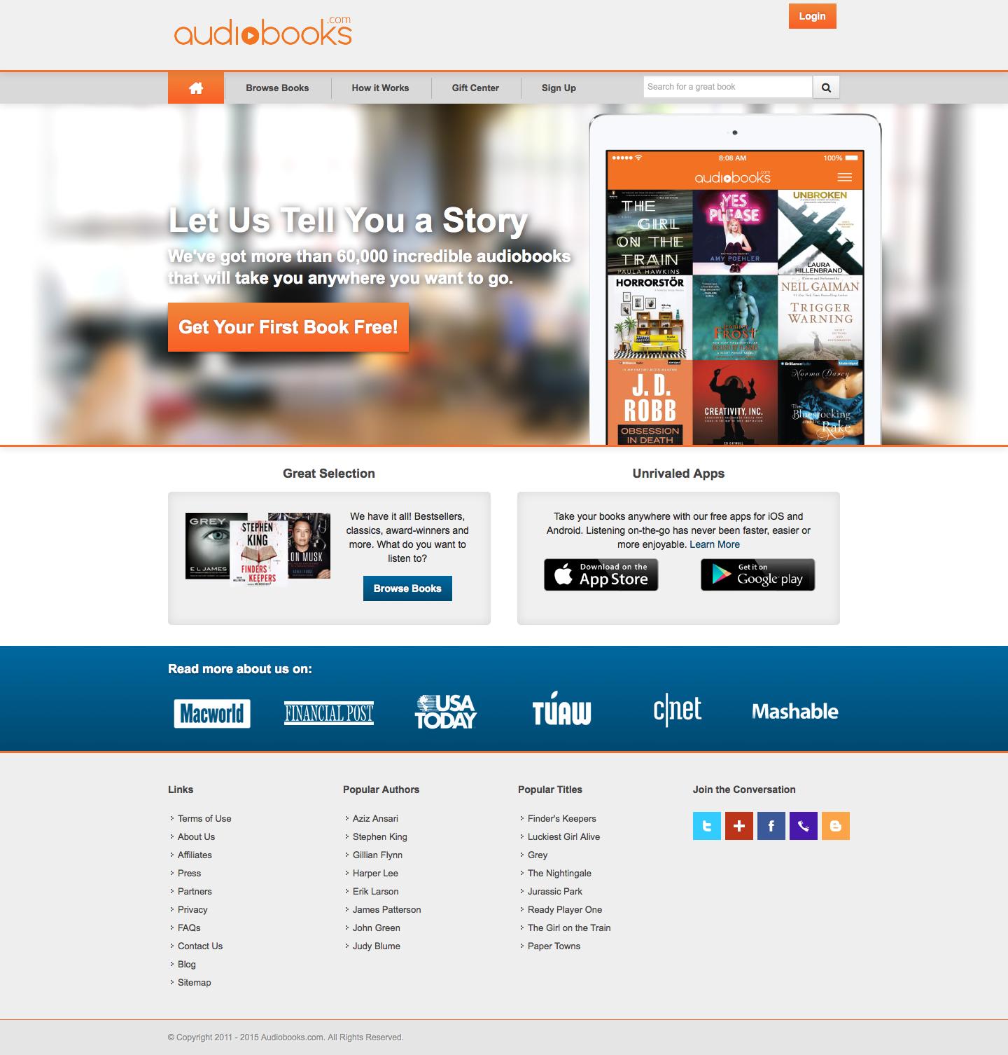 Audiobooks Inc