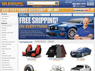 Auto Accessories Garage Rated 25 stars by 147 Consumers