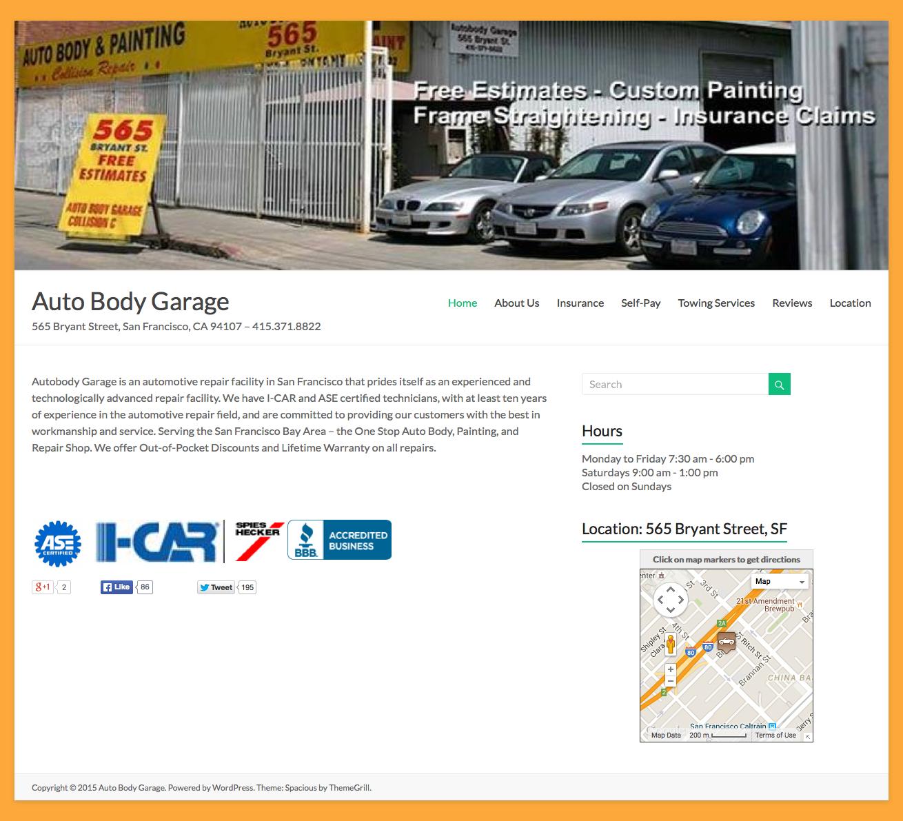 Auto Body Garag