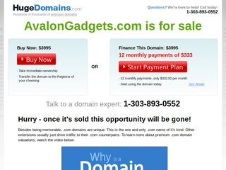 Avalon Gadgets