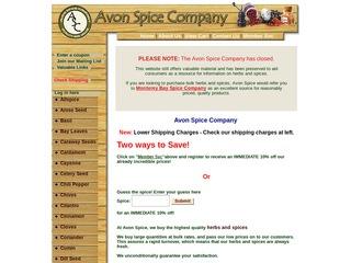 Avon Spice Comp