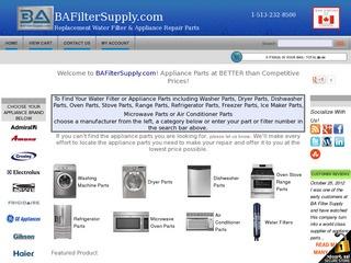 BA Filter Suppl