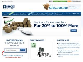 B Stock Solutio