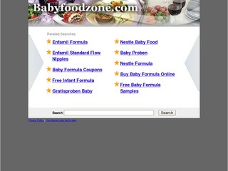 Baby Food Zone