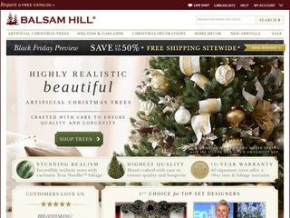 Balsam Hill Christmas Tree Co. Reviews