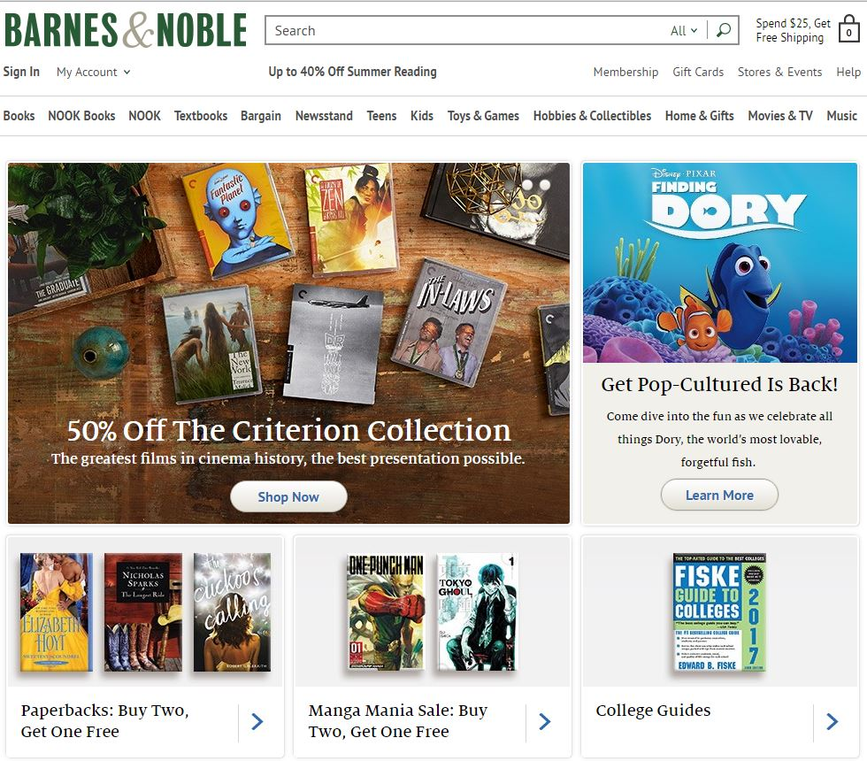 The Barnes & Noble Nook (styled nook or NOOK) is a brand of e-readers developed by American book retailer Barnes & Noble, based on the Android platform.
