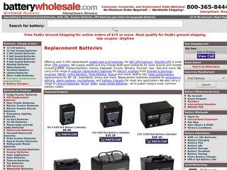 Battery Wholesa