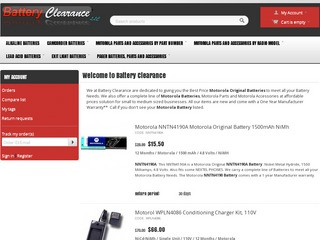 Battery Clearan