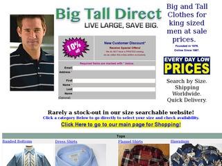 Big Tall Direct