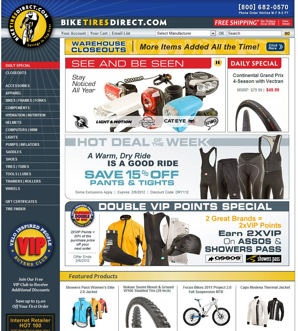 Coupons For Bike Tires Direct BikeTiresDirect