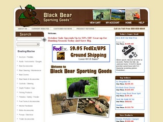 Black Bear Spor