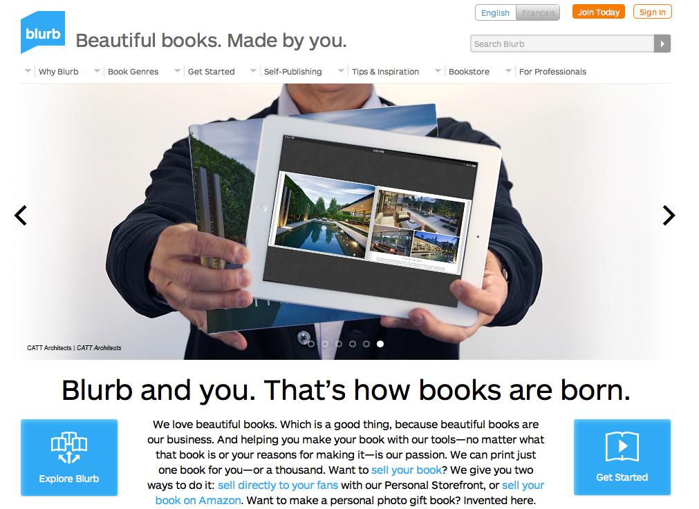 how to write a blurb about your business
