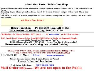Bob's Gun Shop