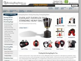 Boxing Bag Stor