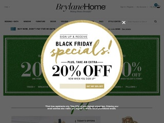 brylane home coupon brylane home 1 5 by 48 consumers brylanehome 10129