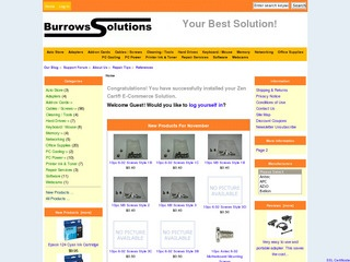 Burrows Solutio