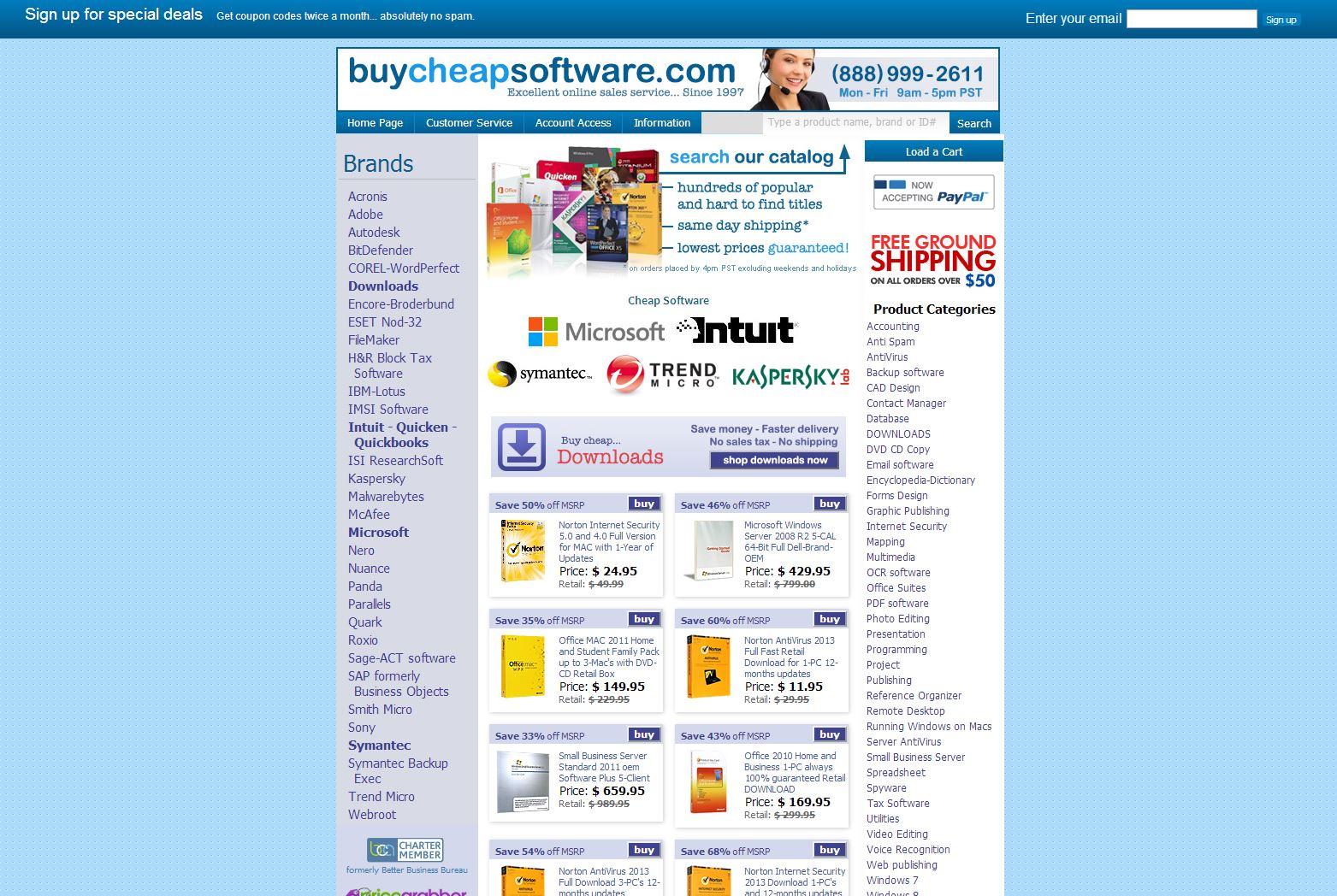 BuyCheapSoftwar