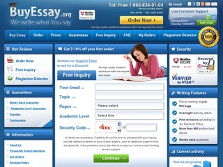 Buy a top-notch essay from a professional writer on any subject