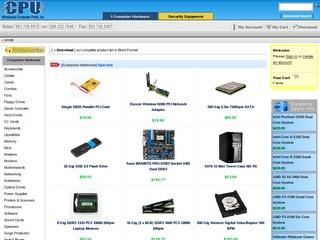 CPU, Wholesale