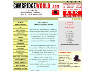 Cambridge World