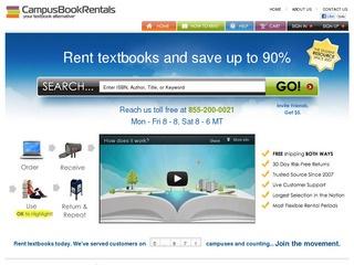 CampusBookRentals.com Reviews