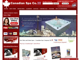 canadian spa consumer reviews at resellerratings. Black Bedroom Furniture Sets. Home Design Ideas