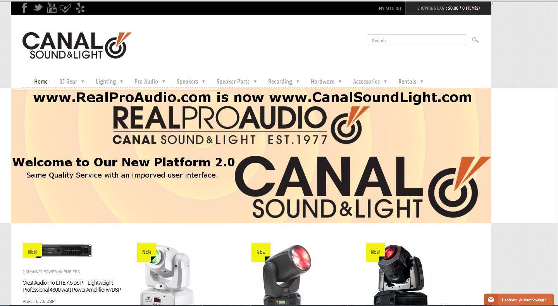 Canalsoundlight