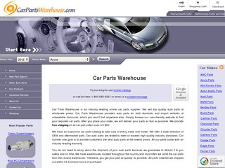 Car Parts Wareh