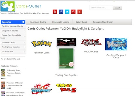 Cards Outlet