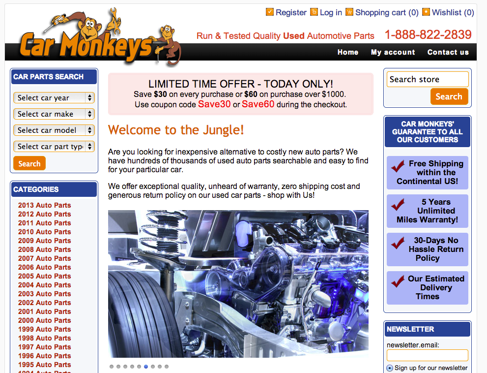 Carmonkeys.com