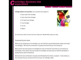 Cartridge Syste