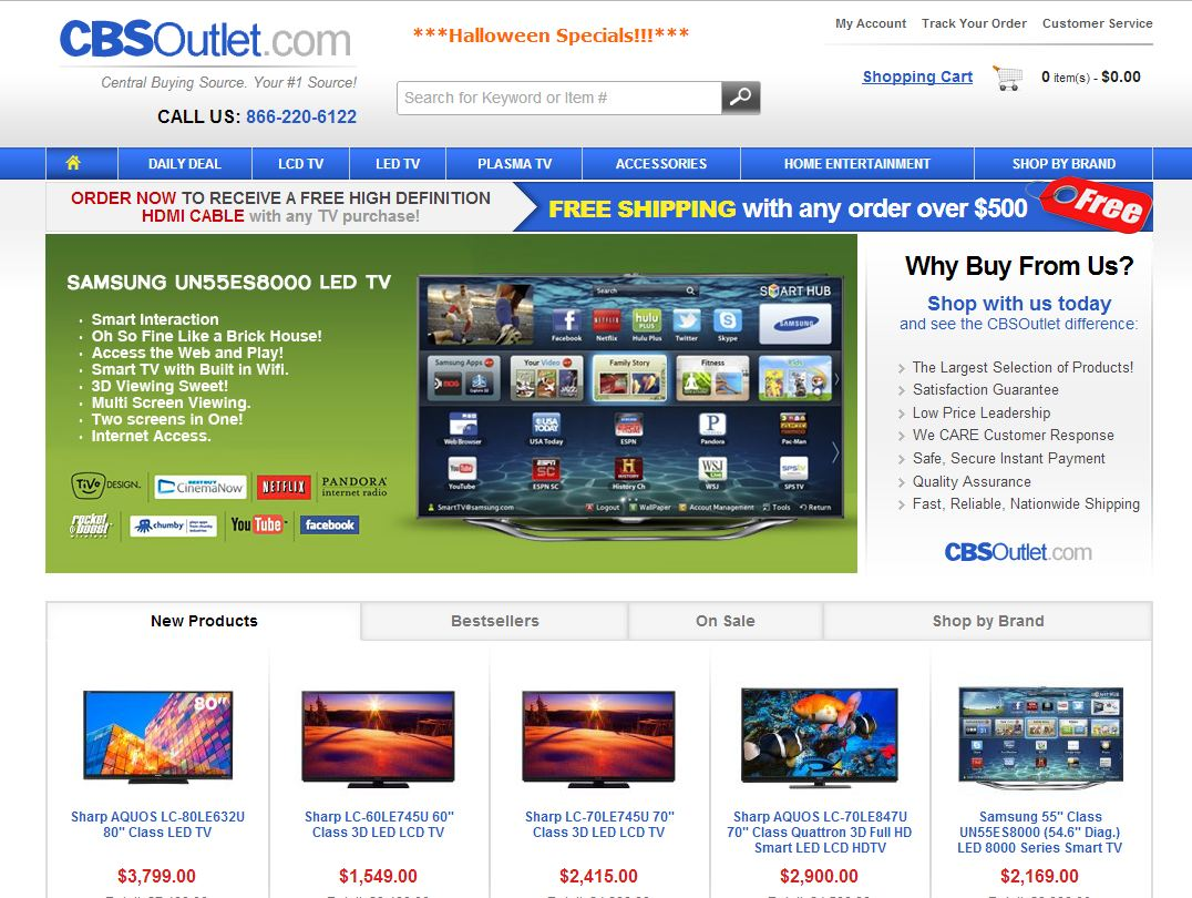 Cbsoutlet.com