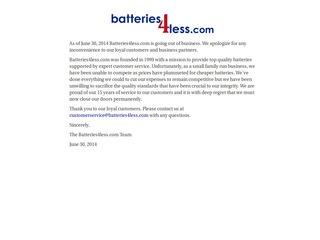 Batteries4Less.