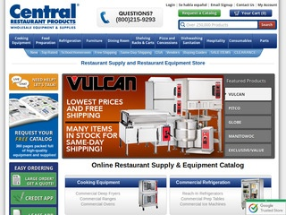 Central Restaurant Products Reviews 515 Reviews Of
