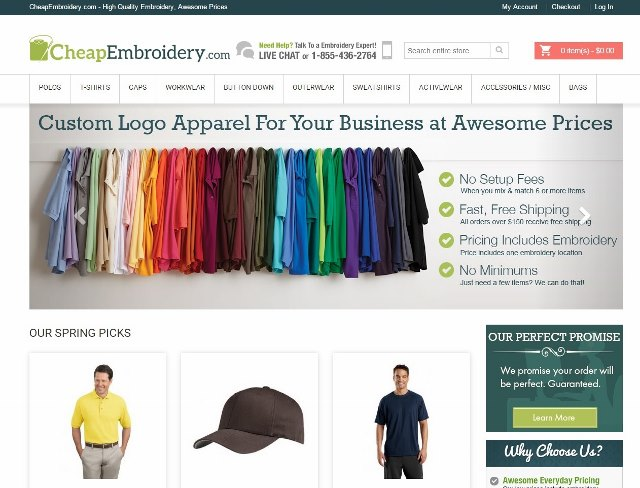 Cheapembroidery Reviews 29 Reviews Of Cheapembroidery